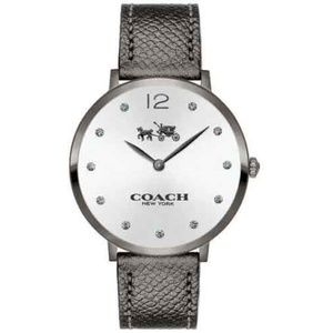 Coach Women's Slim Easton Leather Strap Watch 35mm